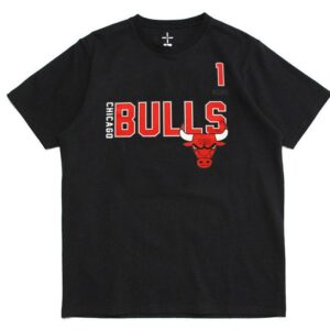 Chicago Bulls 1 Rose B2OTHER Black Tee