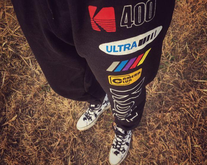 Forever 21 x Kodak Pants Black-6