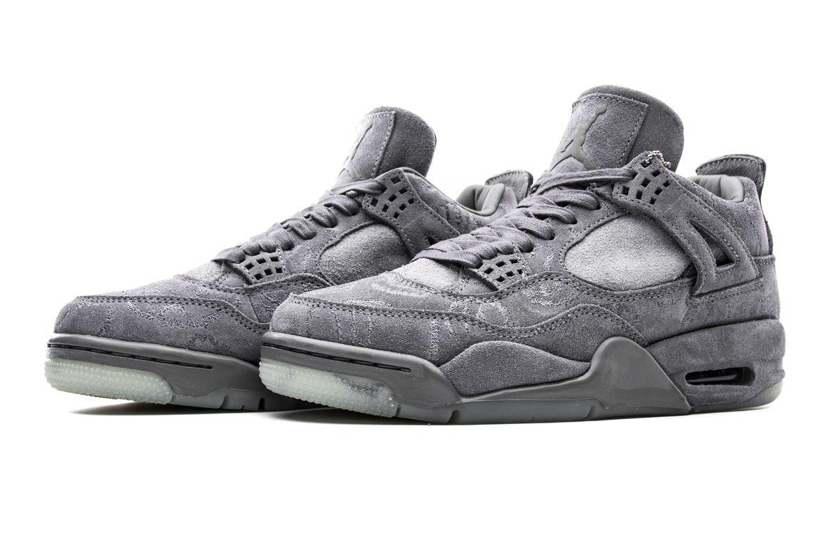 KAWS x Air Jordan 4 Retro Cool Grey