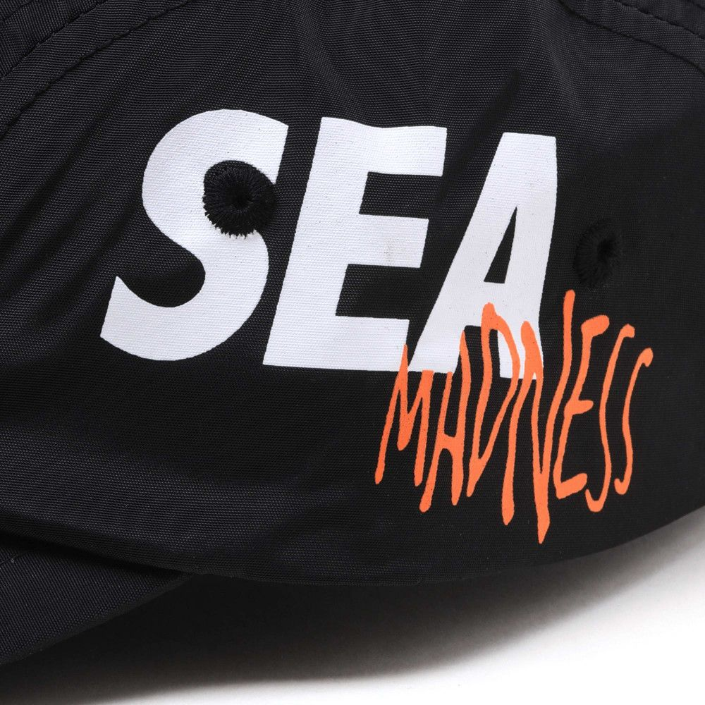 MADNESS x WIND AND SEA 5 Panels Cap Black-5