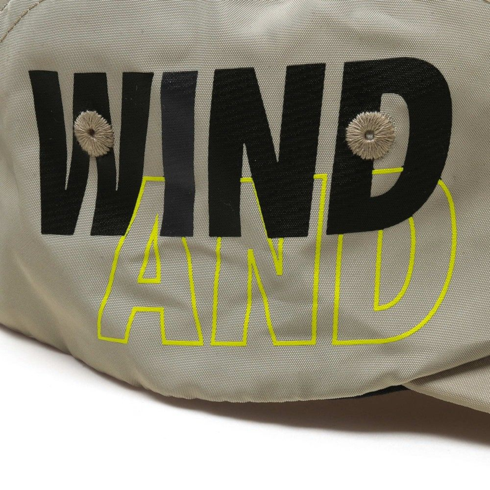 MADNESS x WIND AND SEA 5 Panels Cap Brown-3