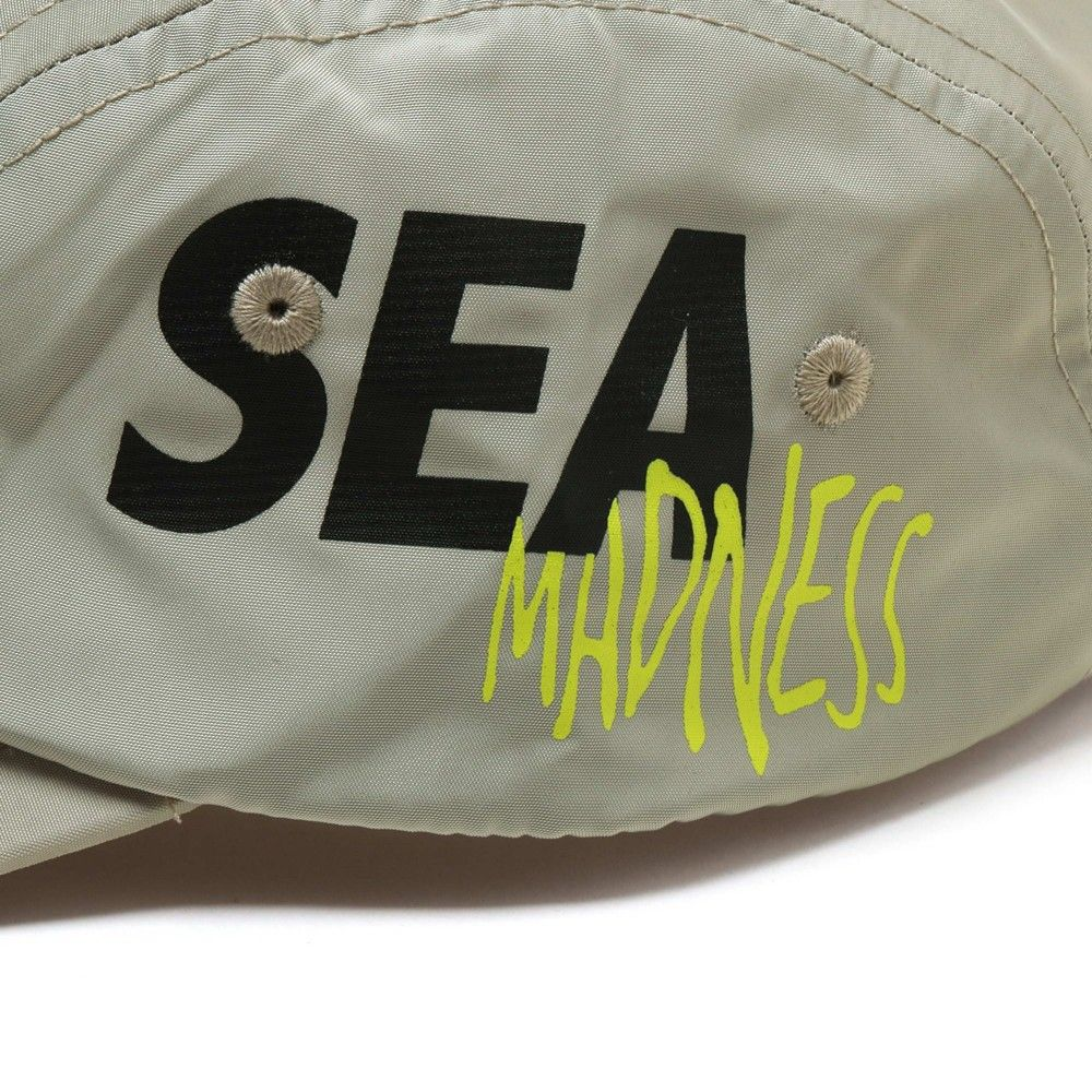 MADNESS x WIND AND SEA 5 Panels Cap Brown-4