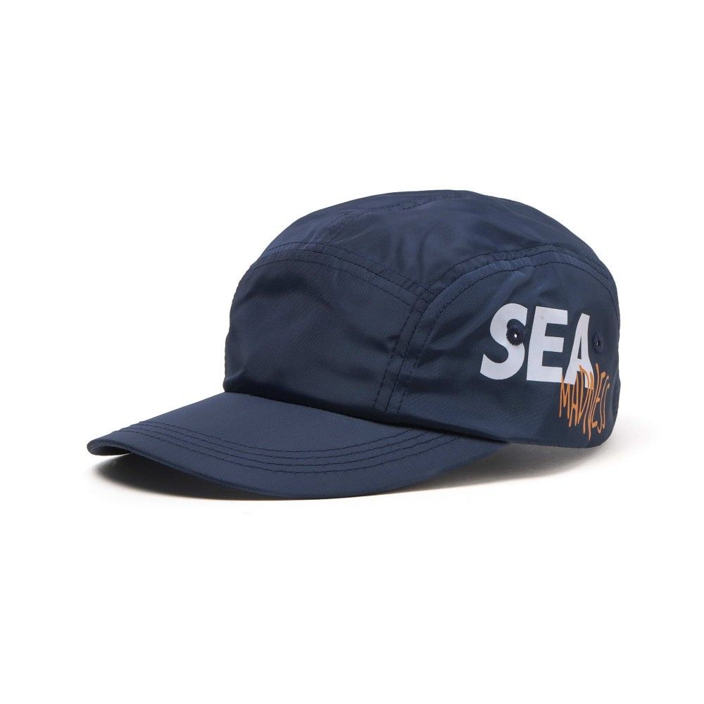 MADNESS x WIND AND SEA 5 Panels Cap Navi