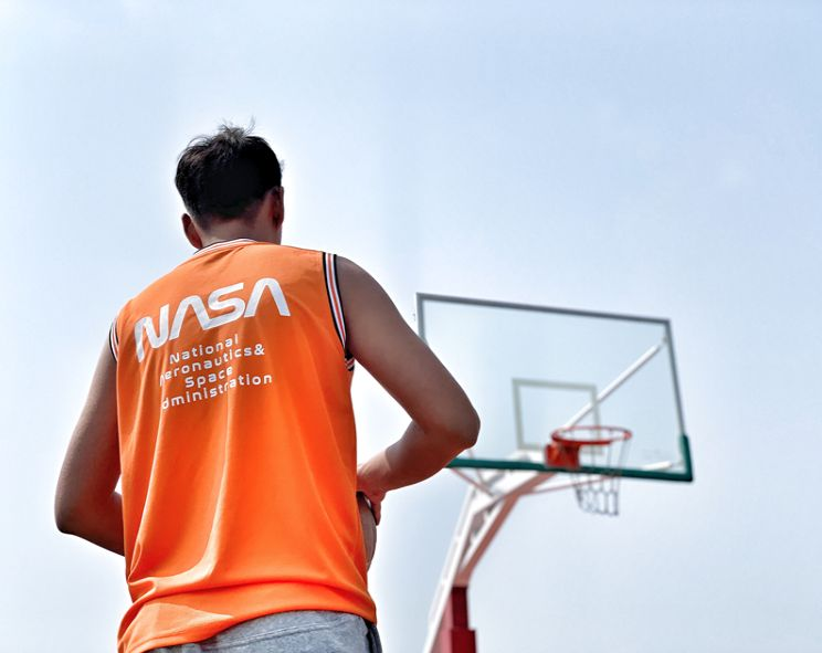 NASA Orange Jersey by B20THER-7