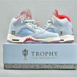 Trophy Room x Air Jordan 5 Retro Ice Blue 24