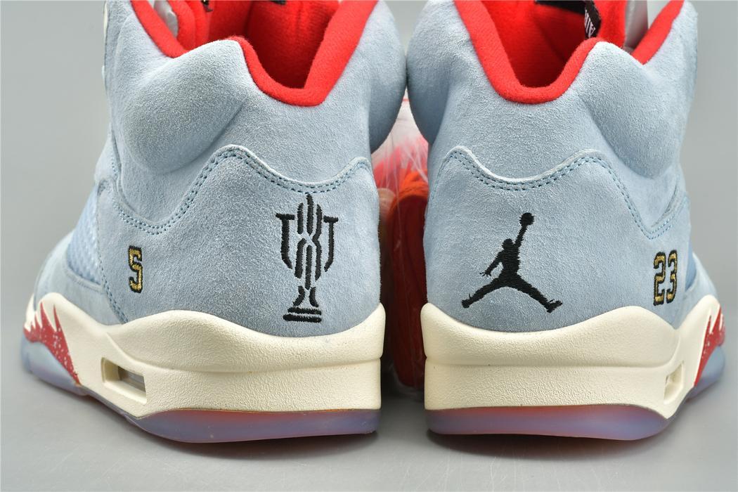 Trophy Room x Air Jordan 5 Retro Ice Blue 30