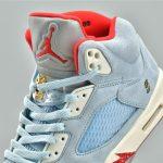 Trophy Room x Air Jordan 5 Retro Ice Blue 31