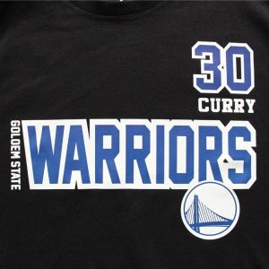 Warriors 30 Curry B2OTHER Black Tee