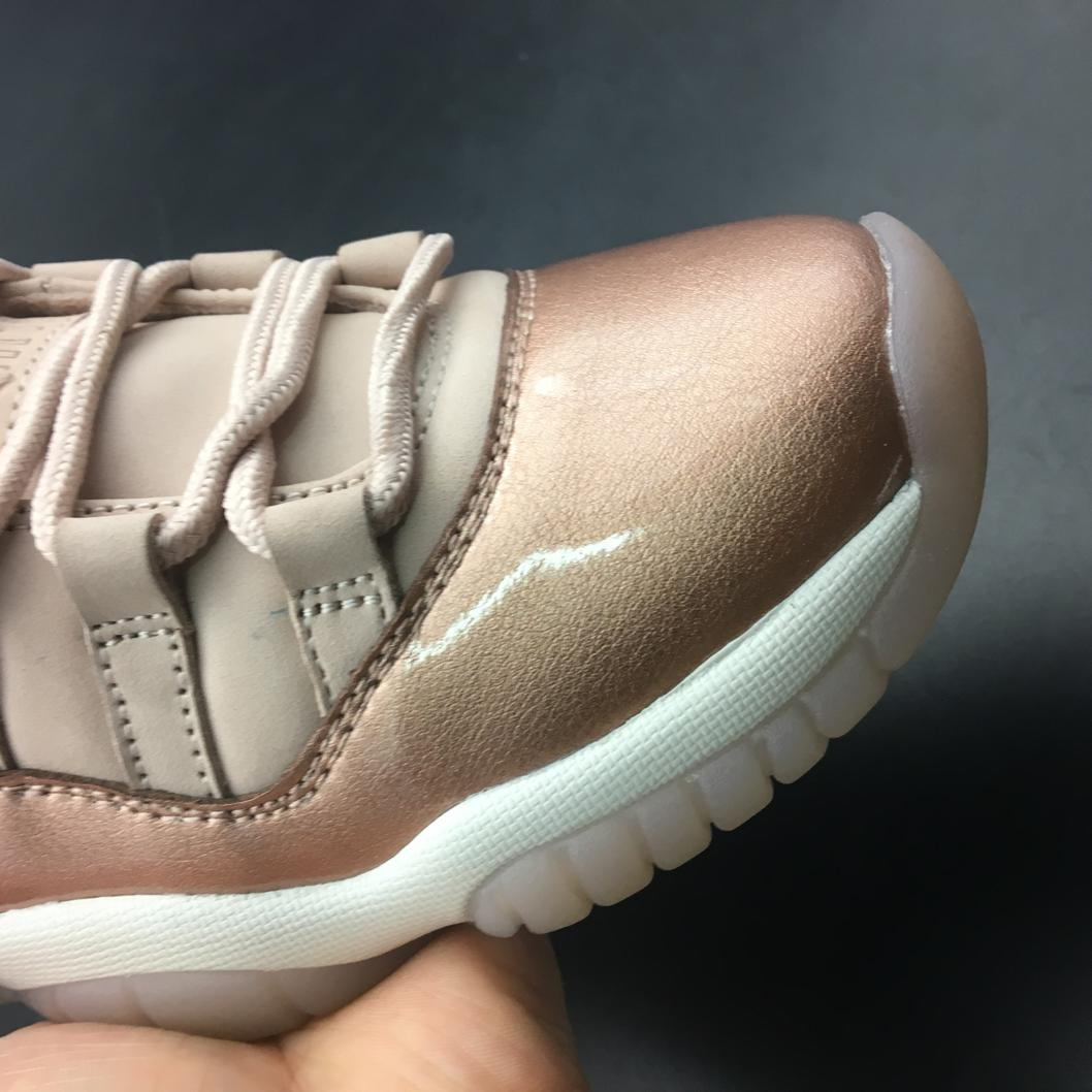 Wmns Jordan 11 Retro Low Rose Gold-1