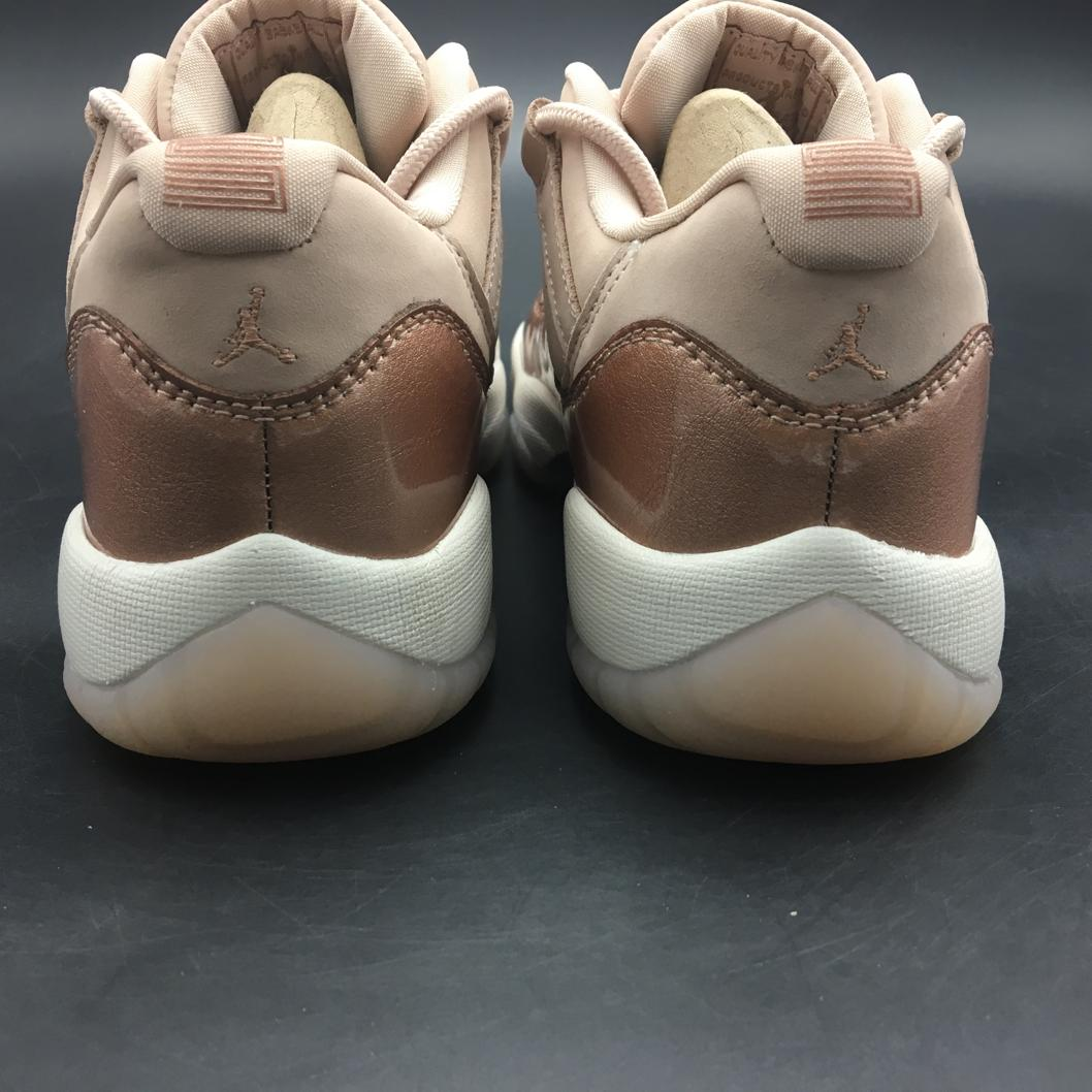 Wmns Jordan 11 Retro Low Rose Gold-11