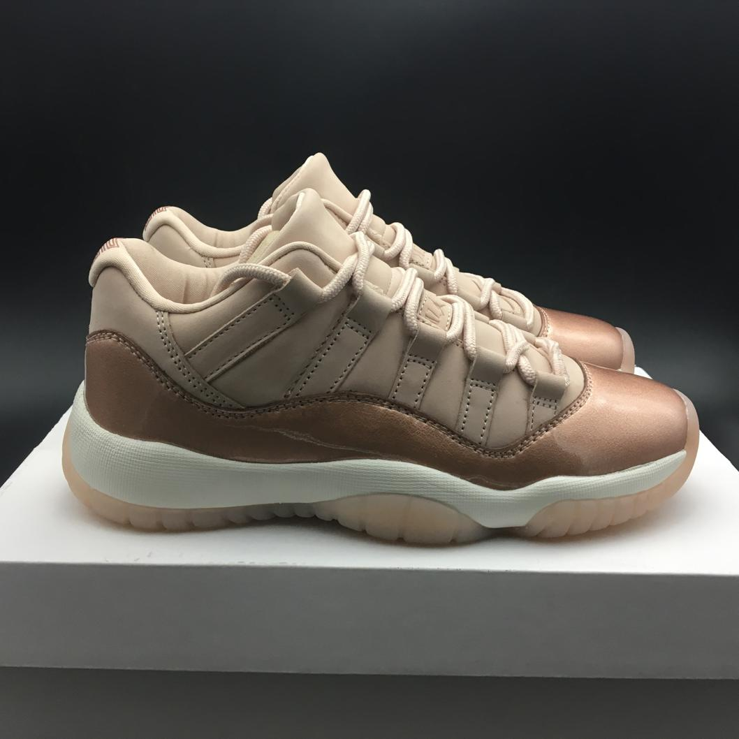 Wmns Jordan 11 Retro Low Rose Gold-15