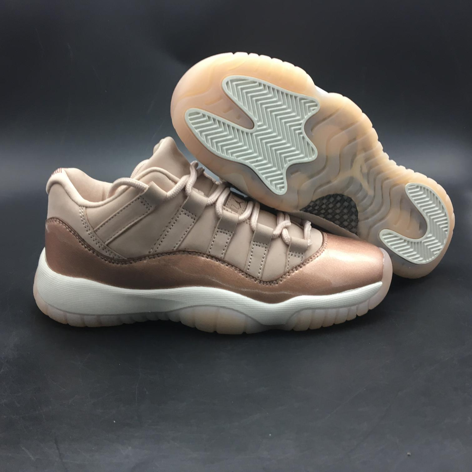 Wmns Jordan 11 Retro Low Rose Gold-6
