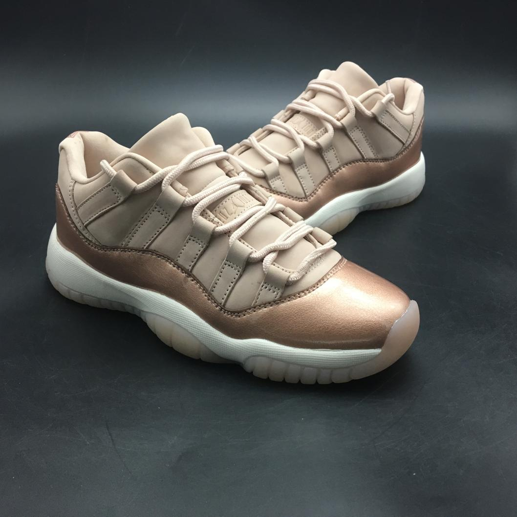 Wmns Jordan 11 Retro Low Rose Gold-8