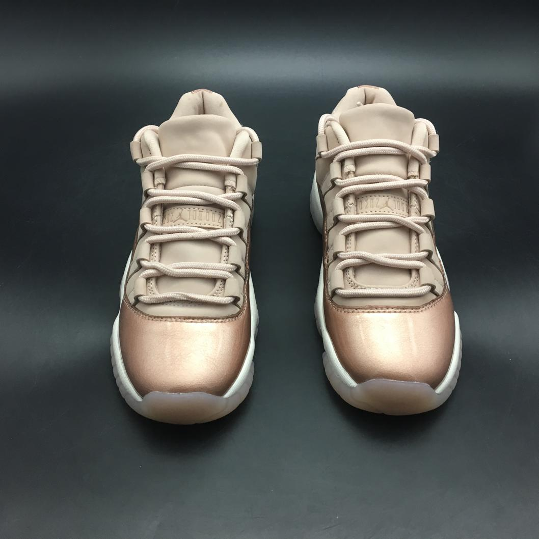 Wmns Jordan 11 Retro Low Rose Gold-9