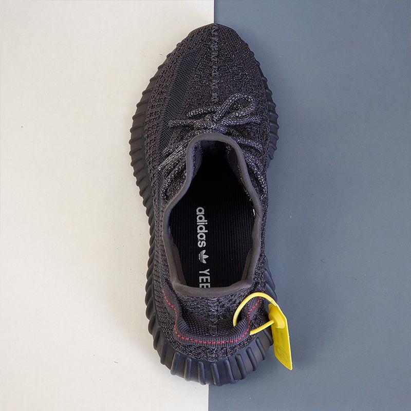 adidas Yeezy Boost 350 V2 Static Black Reflective-14