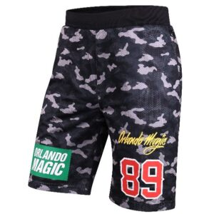2018 Orlando Magic Camo Shorts