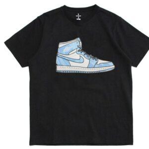 2019 Air Jordan 1 Tee Black Blue