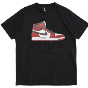 2019 Air Jordan 1 Tee Black Chicago