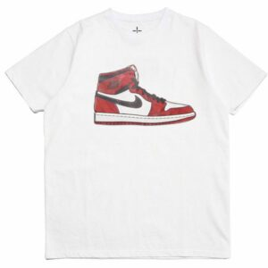 2019 Air Jordan 1 Tee White Chicago