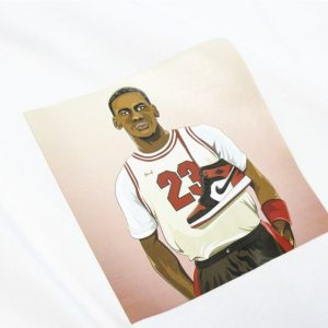 2019 Michael Jordan 23 Sneakers Tee White