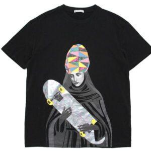 2019 Saint Skateboard Black Tee