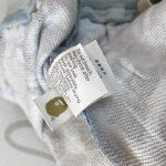 BAPE ABC Camo WGM Print Shark Sweatshorts Light Blue-8