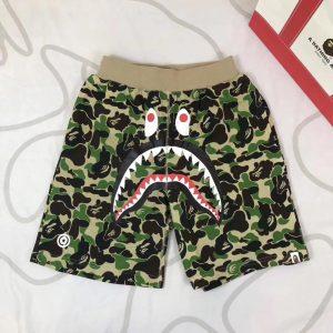 Заказать поиск шорт BAPE ABC Shark Sweat Shorts Green