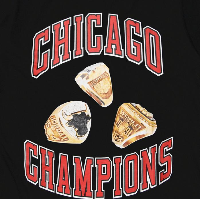IH NOM UH NIT x Chicago Bulls Tee Black