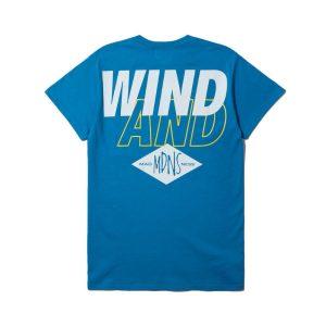 MADNESS x Wind and Sea Print Tee Navi