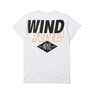 MADNESS x Wind and Sea Print Tee White
