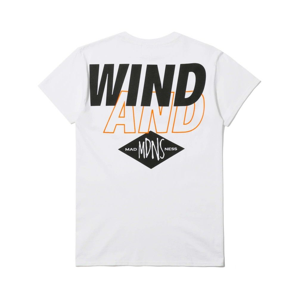 MADNESS x Wind and Sea Print Tee White