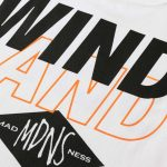 MADNESS x Wind and Sea Print Tee White-2
