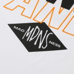 MADNESS x Wind and Sea Print Tee White-3