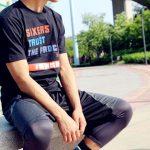 Phila Sixers Trust The Process Black Tee-4