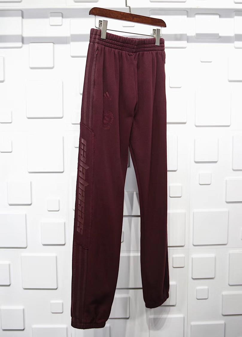 Yeezy Season 5 Calabasas Sweat Pant Oxblood 2