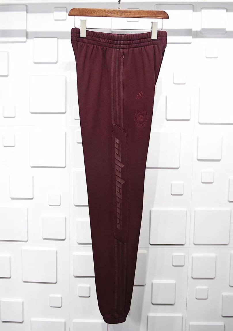 Yeezy Season 5 Calabasas Sweat Pant Oxblood 4