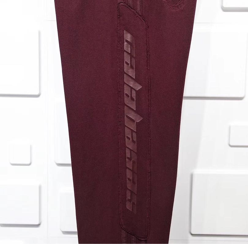 Yeezy Season 5 Calabasas Sweat Pant Oxblood 5