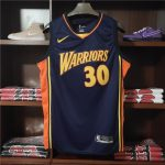 2009-10 Stephen Curry Warriors #30 Navy