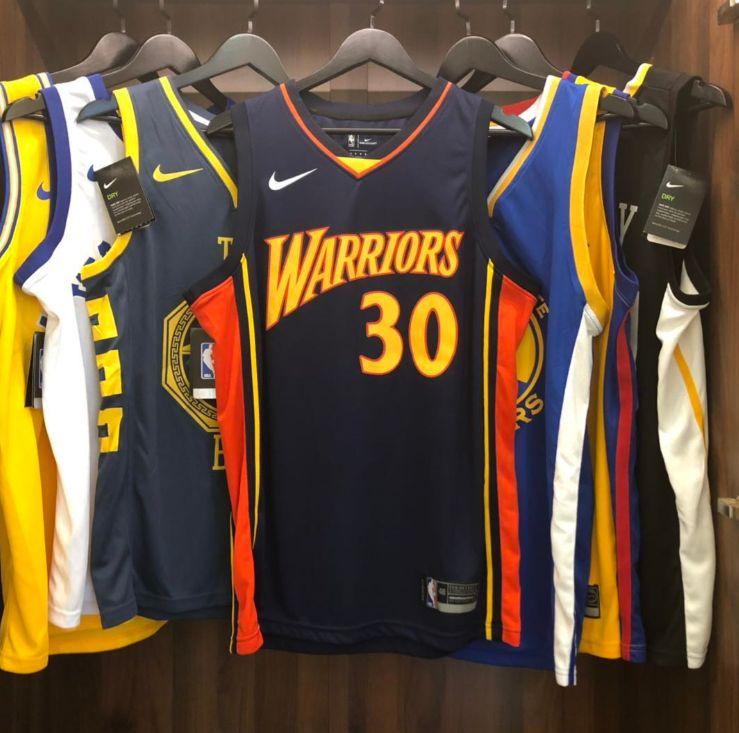 2009-10 Stephen Curry Warriors #30 Navy