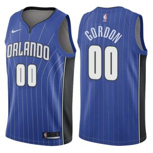 2017-18 Aaron Gordon Orlando Magic #00 Icon Blue