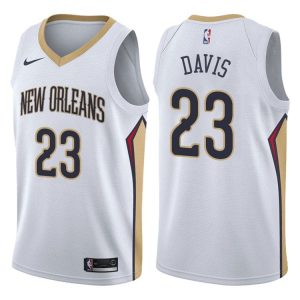 2017-18 Anthony Davis Pelicans #23 Association White