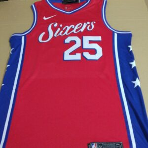 2017-18 Ben Simmons Philadelphia 76ers #25 Statement Red