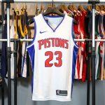 2017-18 Blake Griffin Detroit Pistons #23 Association White-1