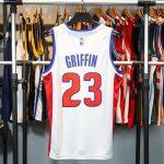 2017-18 Blake Griffin Detroit Pistons #23 Association White-2