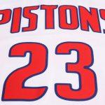 2017-18 Blake Griffin Detroit Pistons #23 Association White-5