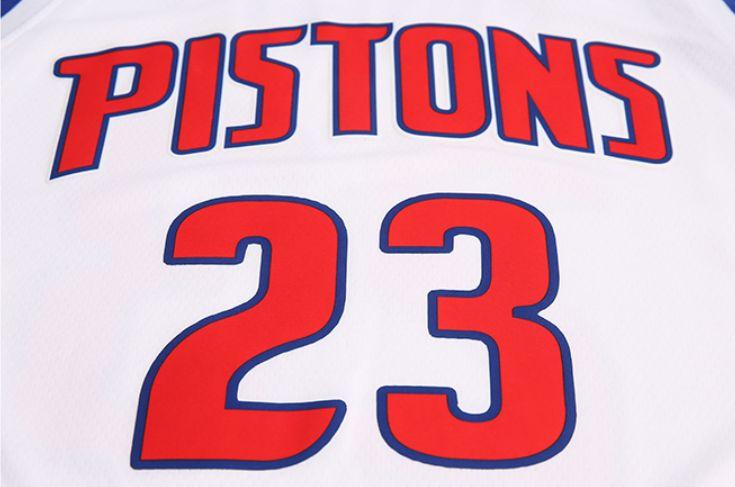 2017-18 Blake Griffin Detroit Pistons #23 Association White