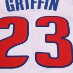 2017-18 Blake Griffin Detroit Pistons #23 Association White-9