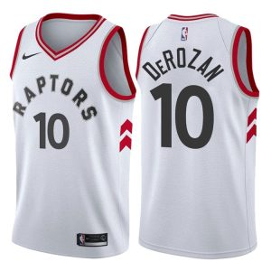 2017-18 DeMar DeRozan Toronto Raptors #10 Association White