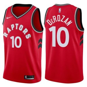 2017-18 DeMar DeRozan Toronto Raptors #10 Icon Red