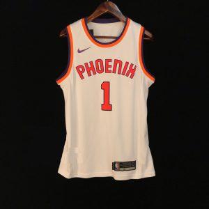 2017-18 Devin Booker Phoenix Suns #1 White Hardwood Classic